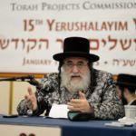 YK15 Day 1  Viznitzer Rebbe