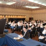 YK15 Day 2 Rav Dovid Cohen with partial crowd
