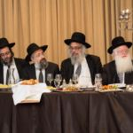 A partial view of the Dais at the Montreal Kollel Avreichim Siyum HaShas