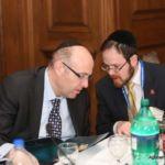 Howard Tzvi Friedman and Rabbi A.D. Motzen