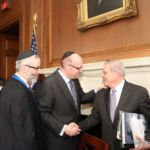Rabbi Chaim Dovid Zwiebel, Howard Tzvi Friedman, Senator Bob Menendez