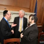 Rabbi Shlomo Gertzulin, Senator Johnson and Rabbi Abba Cohen