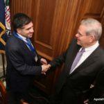 Raphael Zucker and Senator Bob Menendez (D - NJ)