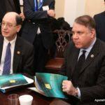 Representative Alan Grayson (D-FL) and Representative Brad Sherman (D-CA)