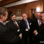 Senator Rand Paul (R - KY), Rabbi Abba Cohen, Dr. David Diamond, Ralph Rieder, Hashi Herzka, Shlomo Werdiger