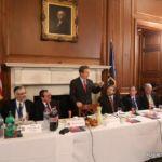 Senator Rand Paul addressing the Mission