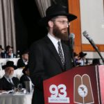Siyum Commemorating the 17th Yahrtzeit of Rabbi Moshe Sherer. Rabbi Yehuda Langer, Maggid Shiur in Mesivta Me\\\\\\\'on HaTorah in Monsey, and Rabbi Sherer\\\\\\\'s grandson