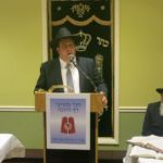 Rabbi Avi Schnall Director Agudath Israel of New Jersey welcoming the participants to the Siyum