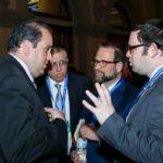 Assemblyman Michael Simanowitz, Rabbi Yosef Chaim Golding, Leon Goldenberg, Nechemiah Hoch