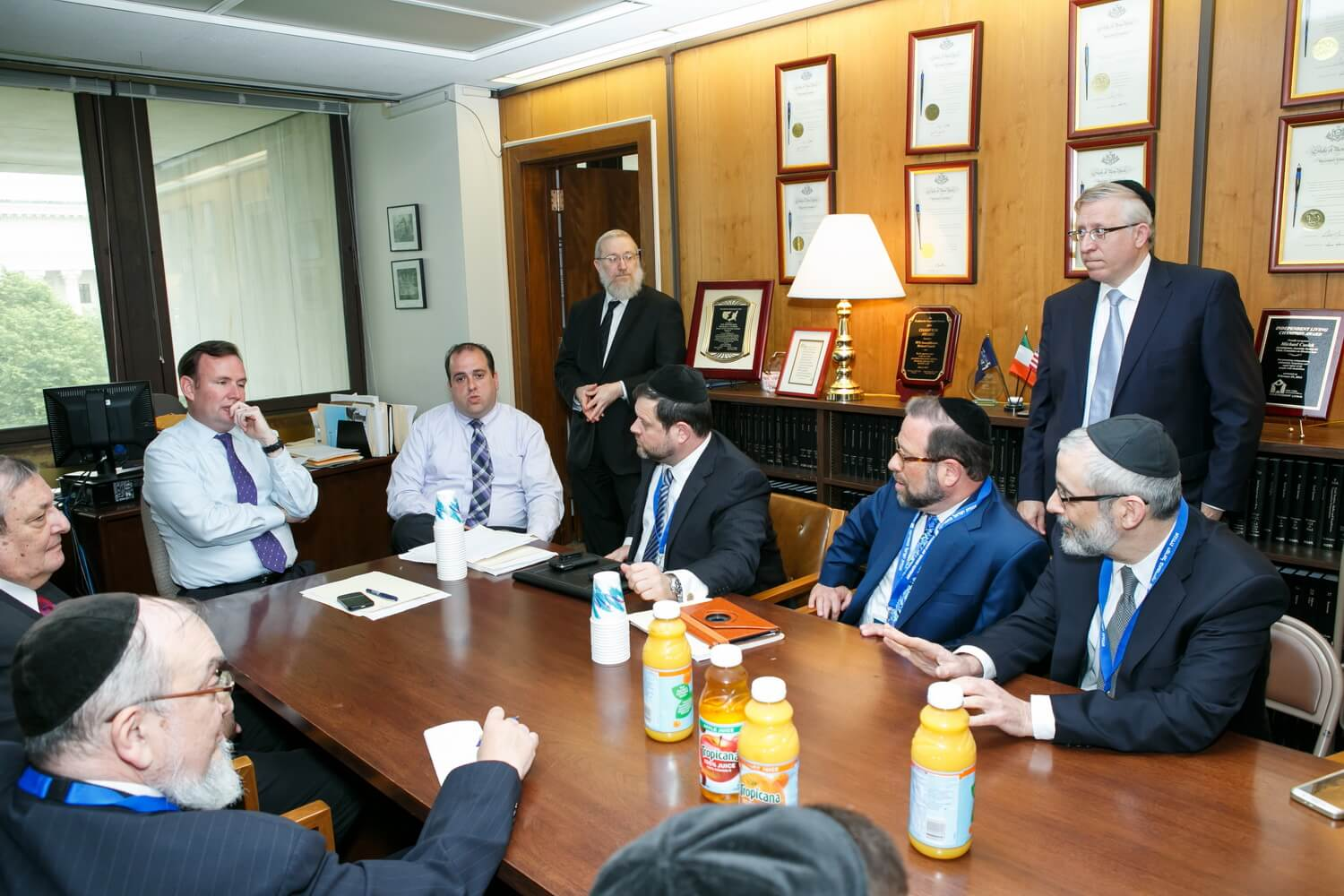 PHOTOS BELOW: Agudath Israel Travels to Albany For Tuition