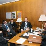 Rabbi Shai Markowitz, Shimi Pellman, Nechemiah Hoch, Yosef Rapaport, Rabbi Boruch Rothman, Assemblyman Mark Weprin