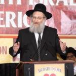 Conv2015 Motzoei Shabbos Rabbi Uren Reich, Rosh HaYeshiva, Woodlake Village