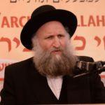 Harav Dovid Feinstei, Rosh Yeshiva Bais Yehuda, Bnei Brak giving a shiur neila at the 16th Aguda Yarchei Kallah