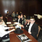 Shteiging Away at Pirchei Agudas Yisroel of Chicago\'s Day of Tefilla, Learning and Fun