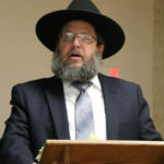 National Director Rabbi Levi speaking