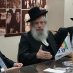 Rabbi Chanoch Zeibert, Mayor of Bnei Brak, Visits Agudath Israel Headquarters2