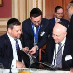 Chaskel Bennett, member of the Board of Trustees and one of the leaders of the organizations government affairs committee, and Rabbi Shai Markowitz, director of the Lefkowitz Leadership Initiative, recall Mr. Greenblatts visit to the Agudah Convention
