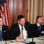 Chaskel Bennett introducing Senator Marco Rubio (R-FL)