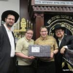 Rabbis Schwartz and Katz with Prize Winners