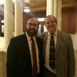 Rabbi Sadwin with PA State Senator Dinniman