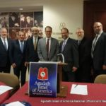NYC Councilman Mark Levine Addresses Agudath Israel Lay Leadership (3)