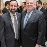Rabbi Sadwin with Governor Hogan