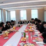 At head of table- Mr. Hershel Werthheimer,