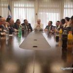 Minister for Regional Cooperation Tzachi Hanegbi (Likud)