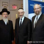 Rabbi David Oberlander, Executive Director, Yeshiva Kehilath Yakov (Pupa) and host of the meeting...