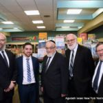 Rabbi Yeruchim Silber, Agudah\'s Director, NY Government Relations...