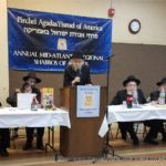 Rabbi Posen at the Dais