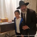 Rabbi Avrohom Cohen with Shas Winner Shloimy Perlson