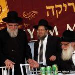 Rabbi Moshe Tuvia Lieff, Rabbi Ephraim Levi and Rabbi Moshe Kolodny