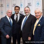 Assemblyman Gary Schaer, Senator Vin Gopal, Committeeman Meir Lichtenstein, and Assemblyman Eric Houghtaling.