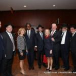 Michael Fragin, Chaskel Bennett, NYS Senator Elaine Phillips, Keith Wofford, Leon Goldenberg, Julie Killian, NYS Senator Marty Golden, Rabbi Shmuel Lefkowitz, Shlomo Werdiger, Rabbi Yeruchim Silber