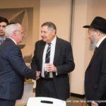 Rabbi Posen, Assemblyman Schaer and Senator Bob Singer