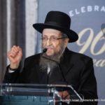 Rabbi Shmuel Kamenetsky, Rosh HaYeshiva, Yeshiva Gedolah of Philadelphia, Member, Moetzes Gedolei HaTorah
