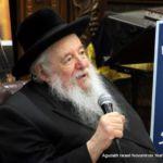 Rabbi Yaakov Perlow, Novominsker Rebbe and Rosh Agudas Yisroel