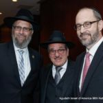 Rabbi Yeruchim Silber, Shlomo Werdiger, NYS Senator Simcha Felder