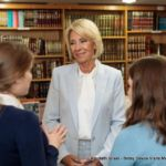 Secretary DeVos speaking to students
