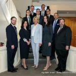 Secretary DeVos with school administration, board members, and Agudath Israel directors