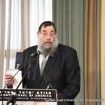 HaRav Yochonon Rudensky, Rosh HaYeshiva, Mercaz HaTorah, giving shiur