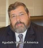 Rabbi Abba Cohen Named Agudah's Vice President for Government Affairs, Reflecting Three Decades of Achievement in National Orthodox Advocacy
