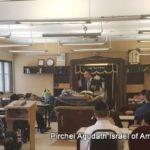 Rabbi Yisroel Wenik Giving Shiur Friday Morning