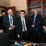 Assemblymember Daniel Rosenthal with Agudah\'s Director of New York Government Relations ...