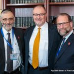Rabbi Chaim Dovid Zwiebel, Agudah\'s Executive Vice President, Jim Cultrara, Director for Education