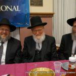 Rabbi Levi, Rabbi Mordechai Dov Fine, and Rabbi Shraga Berlin