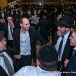 Rabbi Wealgus, Nachum Drazin and Rabbi Hillel Drazin Dancing