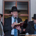 Rabbi Wealgus, Rabbi Drazin, and Mr. Harry brown