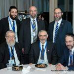 Yaniv Meirov, Rabbi Yeruchim Silber and Senator Simcha Felder